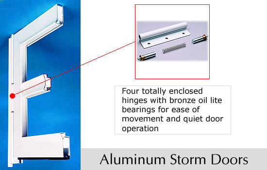 ... Four totally enclosed hinges with bronze oil lit bearings for ease of movement and quiet door operation  sc 1 st  Weather SealCo & WSA - Weather SealCo - Entry Doors - Patio Doors - Storm Doors ...
